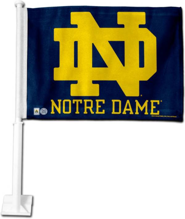 Rico Notre Dame Fighting Irish Navy Logo Car Flag product image