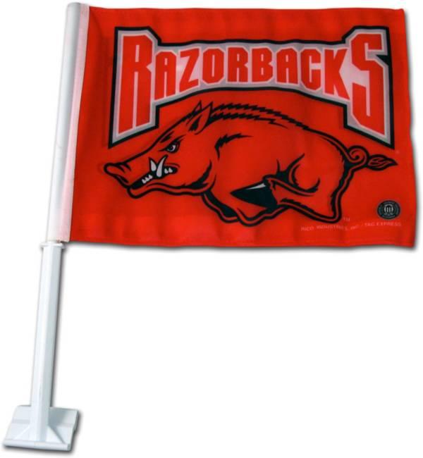 Rico Arkansas Razorbacks Car Flag product image
