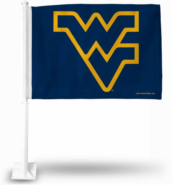 Rico West Virginia Mountaineers Car Flag product image