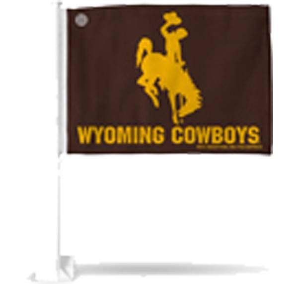 Rico Wyoming Cowboys Car Flag product image