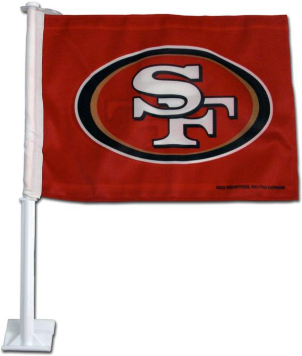 Rico San Francisco 49ers Car Flag product image