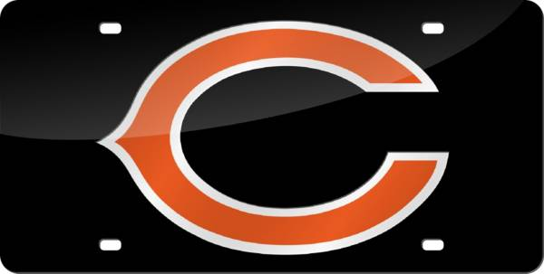 """Rico Chicago Bears """"C"""" Laser Tag License Plate product image"""