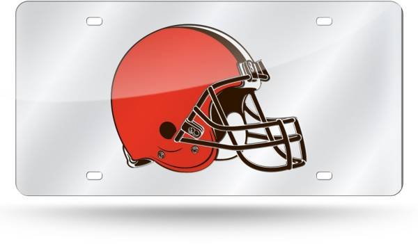 Rico Cleveland Browns Silver Laser Tag License Plate product image