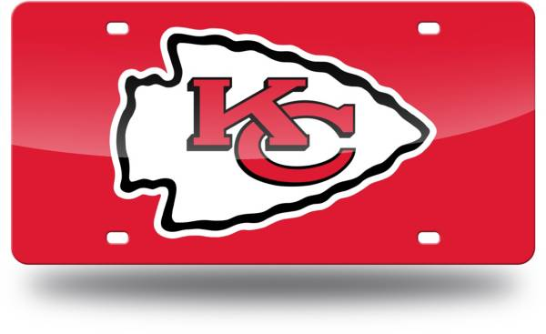 Rico Kansas City Chiefs Red Laser Tag License Plate product image