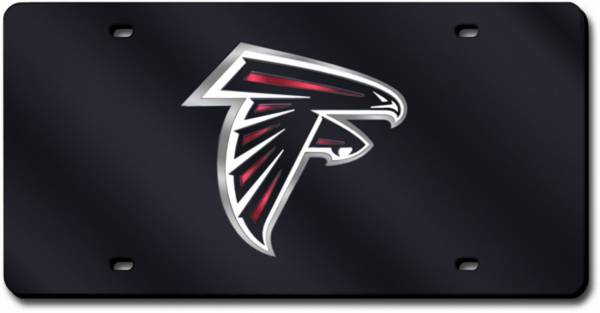 Rico Atlanta Falcons Black Laser Tag License Plate product image