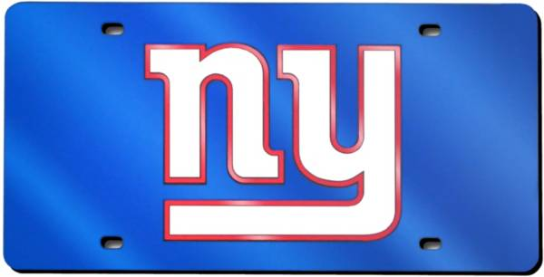 Rico New York Giants Blue Laser Tag License Plate product image