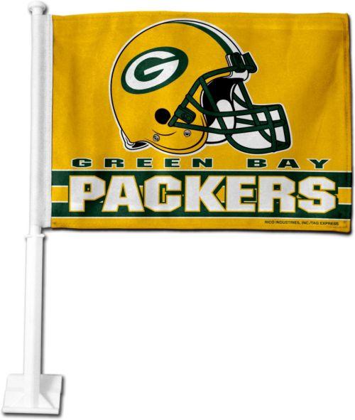 Rico Green Bay Packers Car Flag. noImageFound. 1 95e495d99