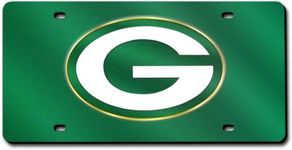Rico Green Bay Packers Green Laser Tag License Plate product image