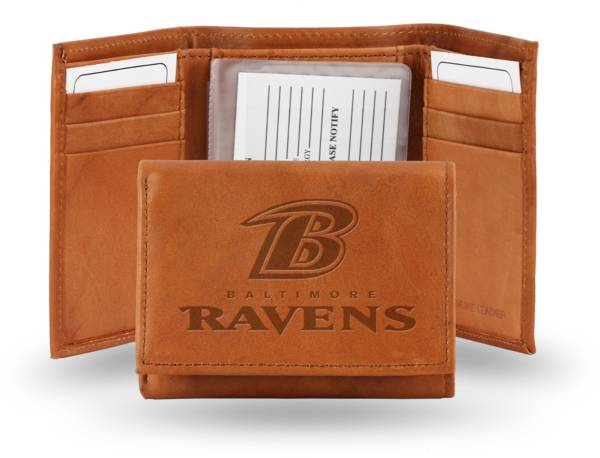 Rico NFL Baltimore Ravens Embossed Tri-Fold Wallet product image