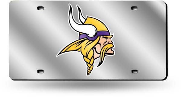 Rico Minnesota Vikings Silver Laser Tag License Plate product image