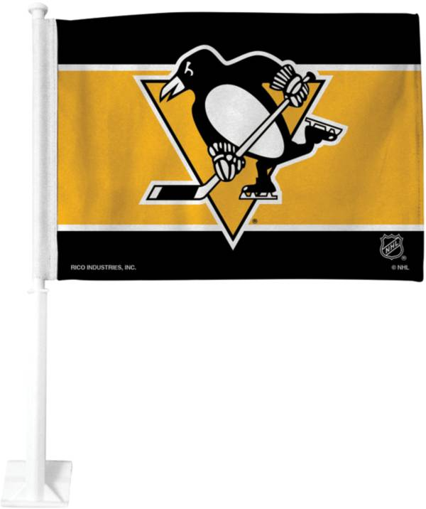 Rico Pittsburgh Penguins Gold Car Flag product image