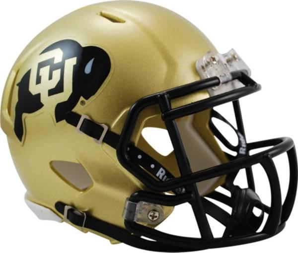 Riddell Colorado Buffaloes Speed Mini Football Helmet product image