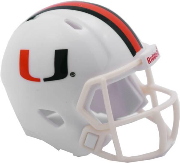 Riddell Miami Hurricanes Pocket Speed Single Helmet product image