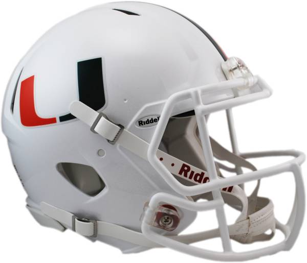 Riddell Miami Hurricanes Speed Revolution Authentic Full-Size Football Helmet product image