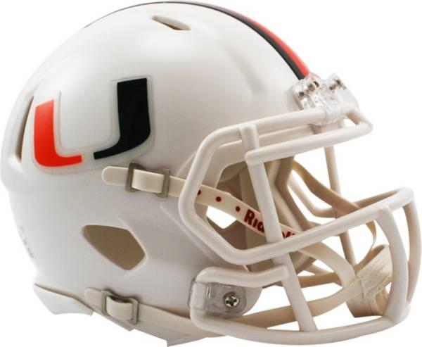 Riddell Miami Hurricanes Speed Mini Football Helmet product image