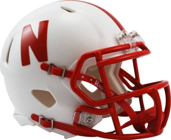 Riddell Nebraska Cornhuskers Speed Mini Football Helmet product image