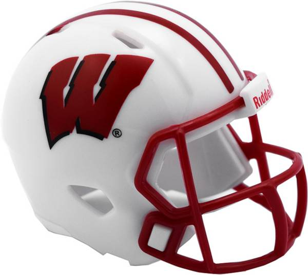 Riddell Wisconsin Badgers Pocket Single Helmet product image