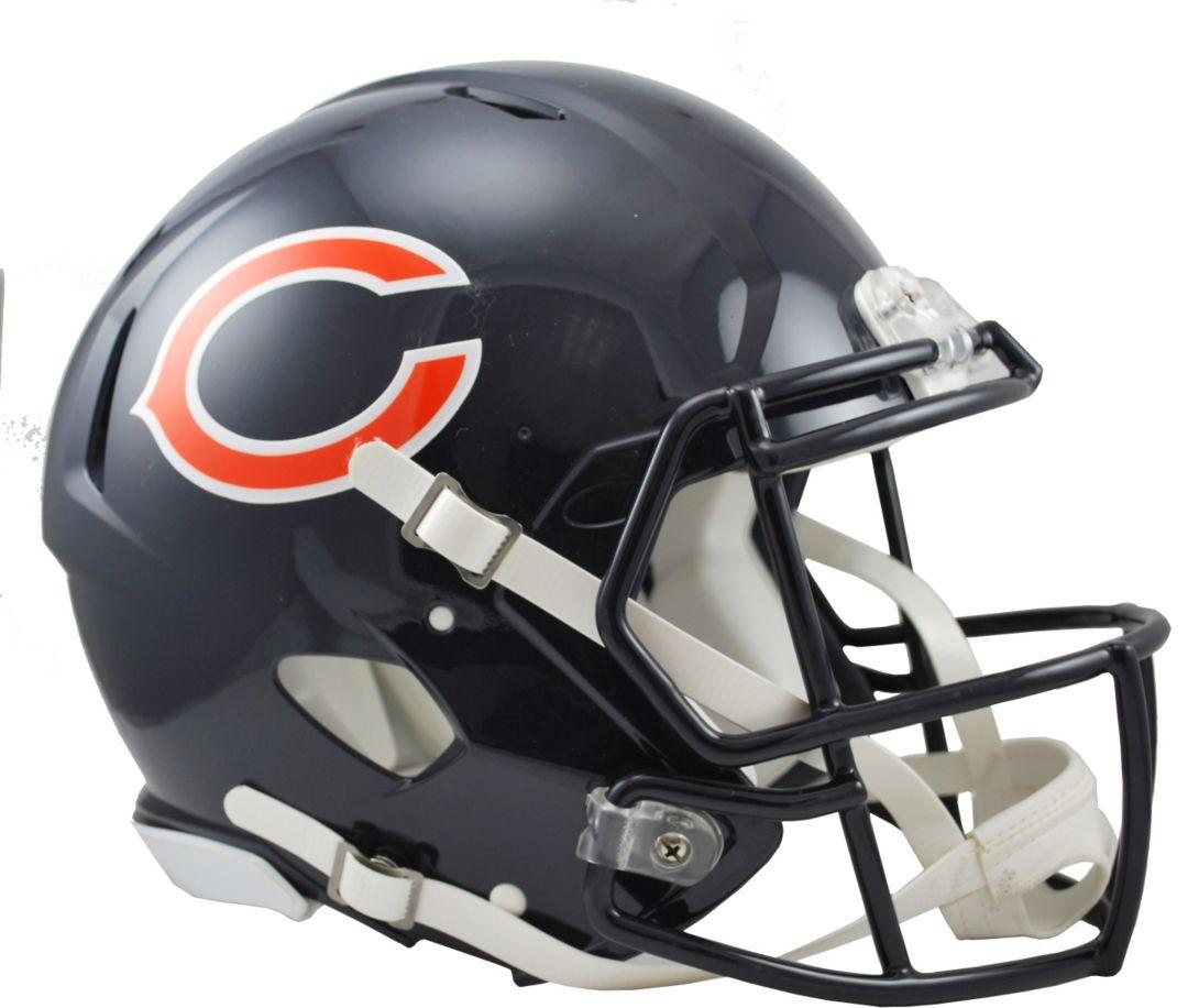 separation shoes 5ba10 0a720 Riddell Chicago Bears Revolution Speed Football Helmet