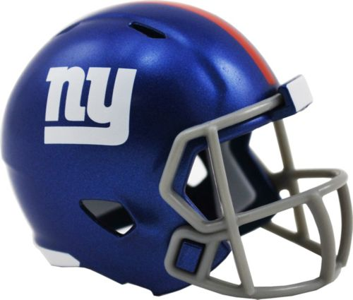 Riddell New York Giants Pocket Single Speed Helmet. noImageFound. 1 f31a9671a