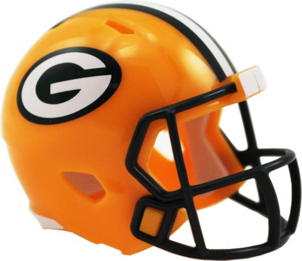 Riddell Green Bay Packers Pocket Single Speed Helmet Dick S Sporting Goods