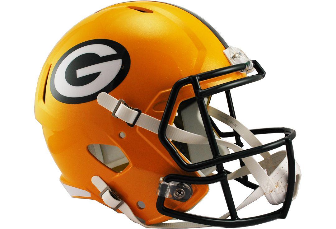 Riddell Green Bay Packers Speed Replica Full-Size Football Helmet