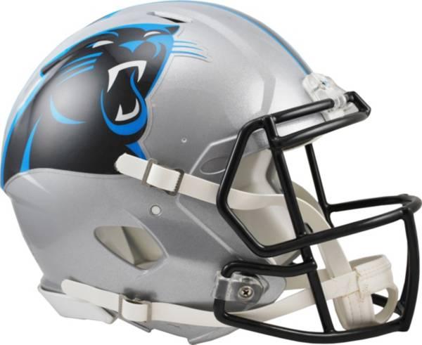 Riddell Carolina Panthers Revolution Speed Football Helmet product image