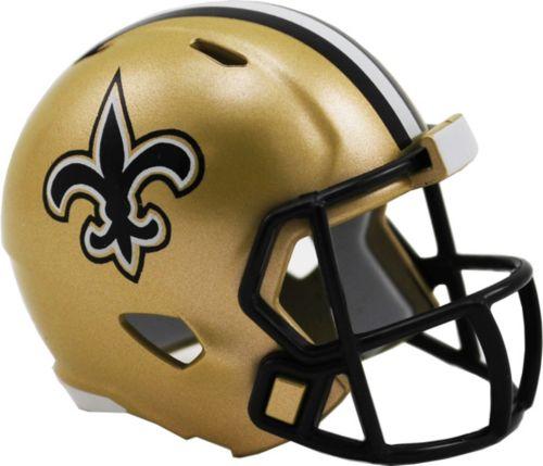 6423489dc3c Riddell New Orleans Saints Pocket Single Speed Helmet