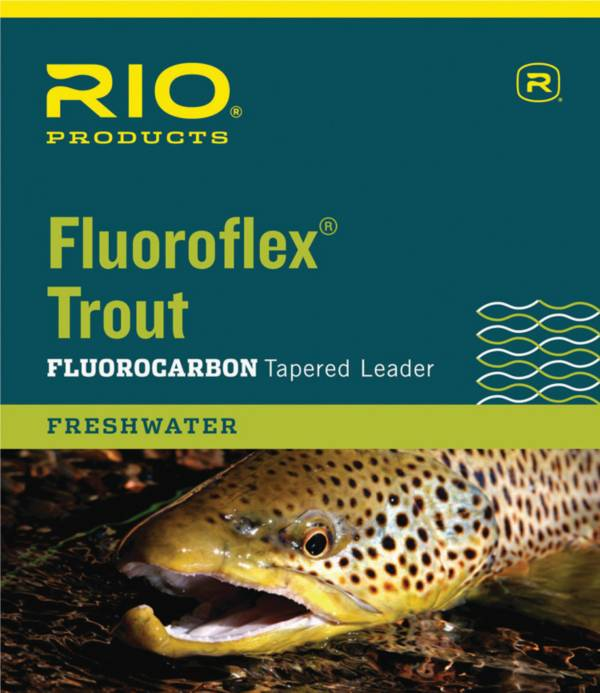 RIO Fluoroflex Trout Tapered Leader product image