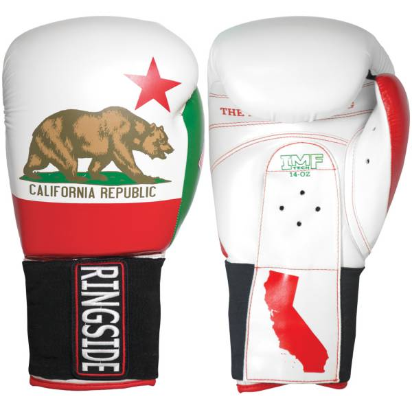 Ringside 16 oz Limited Edition California IMF Sparring Gloves product image