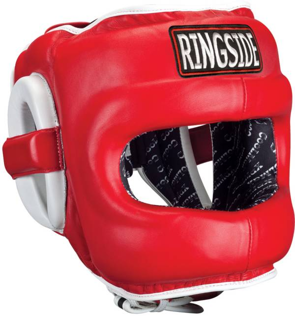 Ringside Deluxe Face Saver Boxing Sparring Headgear