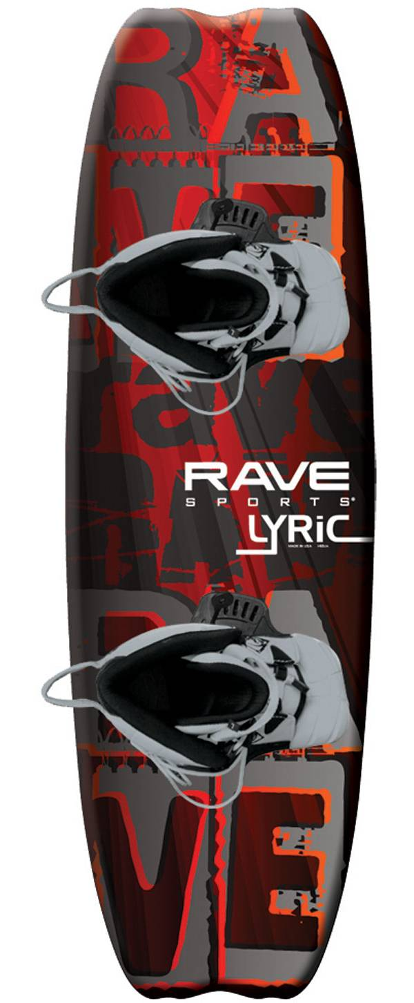 Rave Sports Lyric Wakeboard with Advantage Boots product image