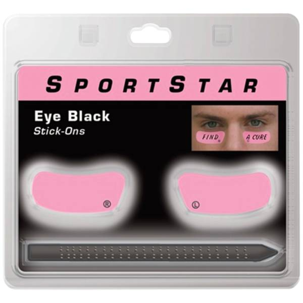 SportStar Pink Eye Black Stickers w/ Pencil product image