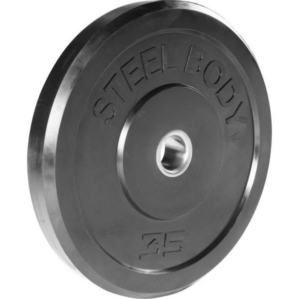 Steelbody 35 lb. Rubber Bumper Plate product image