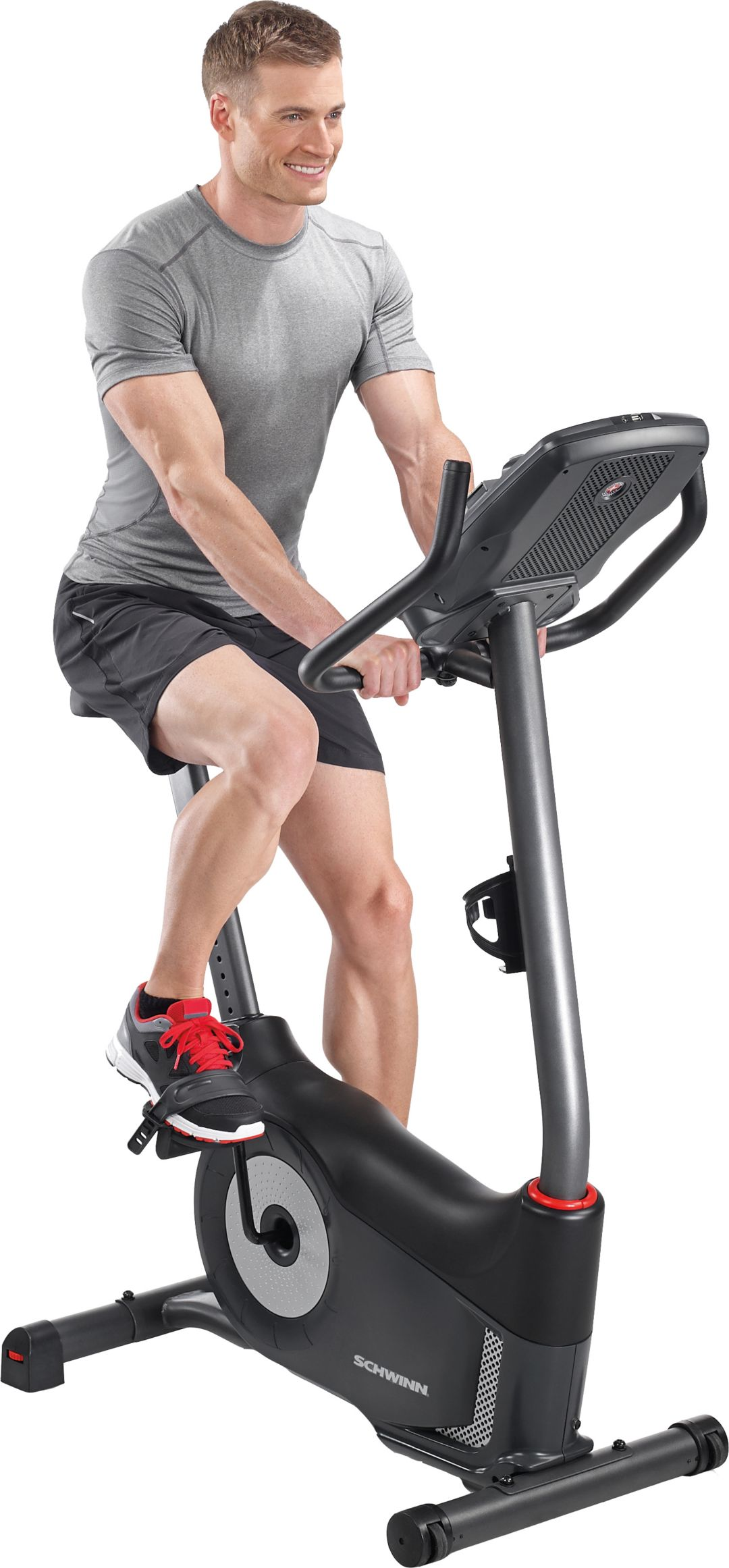 3898484b1d7 Schwinn 130 Upright Exercise Bike | DICK'S Sporting Goods