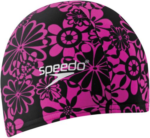 bd7c0985a5d Speedo Solid Lycra Long Hair Swim Cap