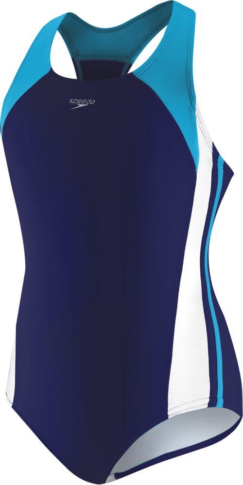 Speedo Girls Infinity Splice Swimsuit Dicks Sporting Goods
