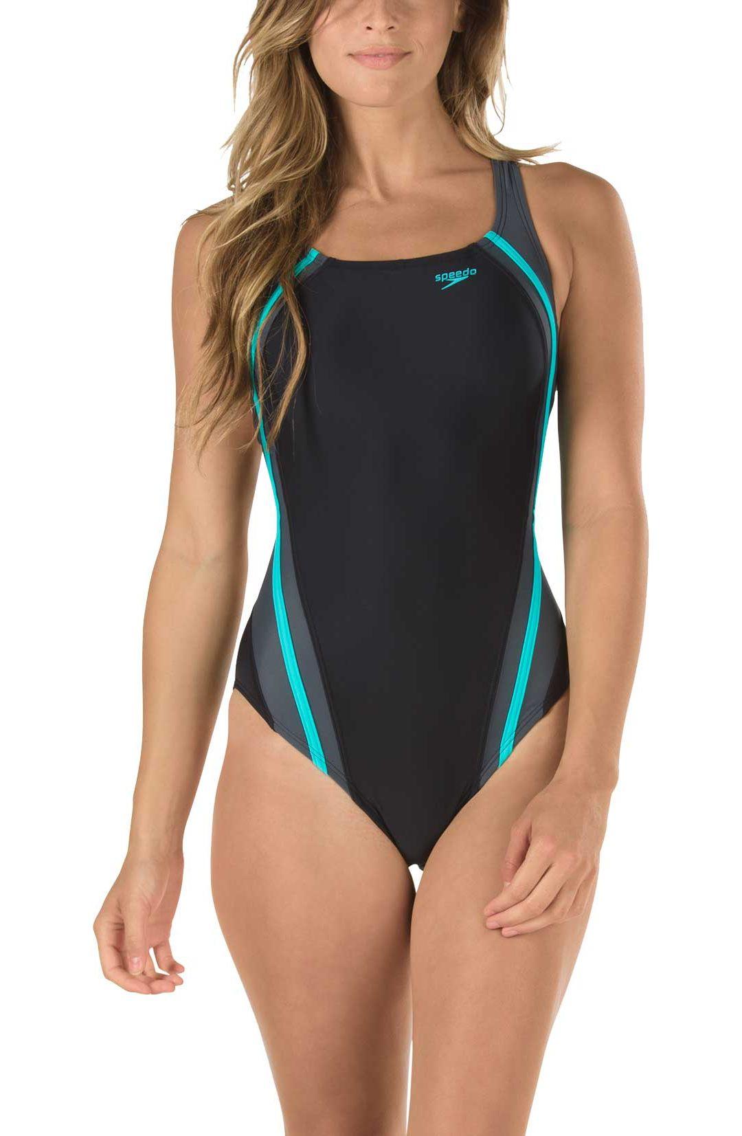 74a4f5ac4b Speedo Women's Quantum Splice Swimsuit. noImageFound. Previous