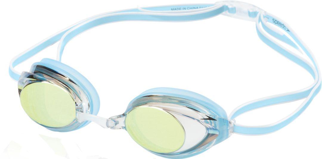 05c848984ef Speedo Women's Vanquisher 2.0 Mirrored Swim Goggles. noImageFound. Previous