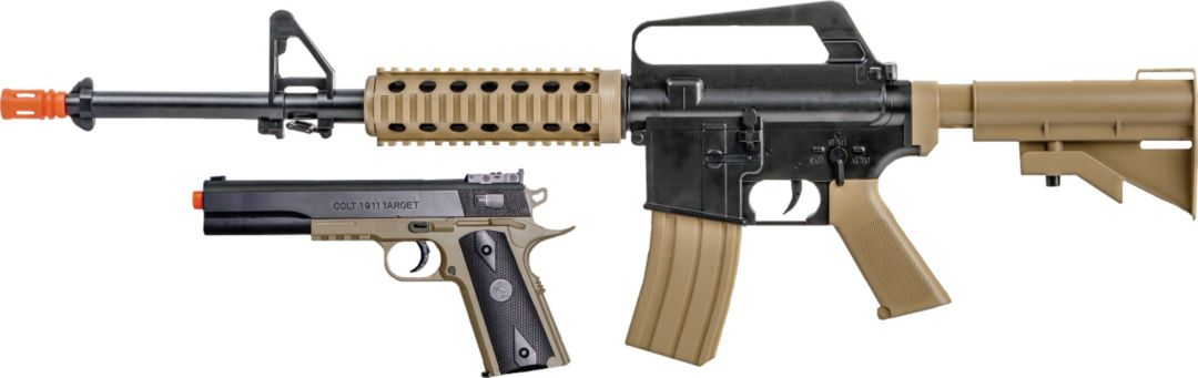 Soft Air Colt M4-1911 Airsoft Gun Kit