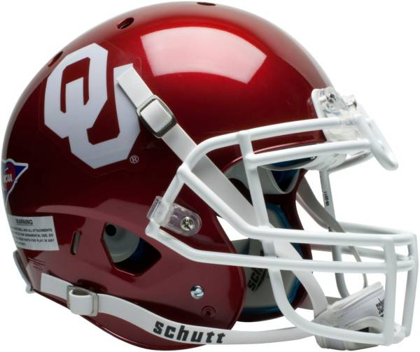 Oklahoma Sooners Schutt Mini Authentic Helmet