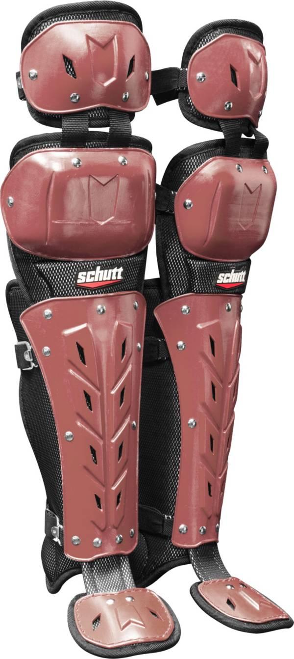 Schutt Air Maxx Scorpion Double Knee Catcher's Leg Guards product image
