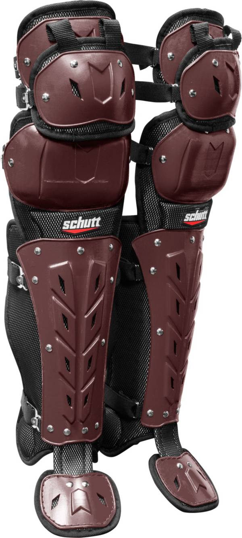 Schutt Air Maxx Scorpion Triple Knee Catcher's Leg Guards product image