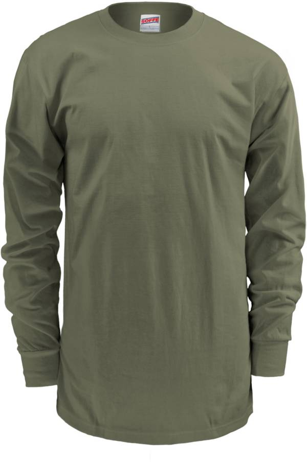 Soffe Men's Crewneck Long Sleeve Shirt product image