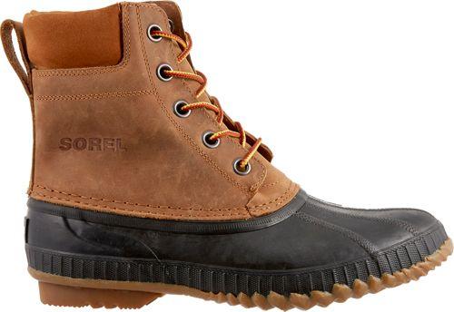 SOREL Men s Cheyanne Lace Full Grain Waterproof 200g Winter Boots ... f46a63ec6fbd2