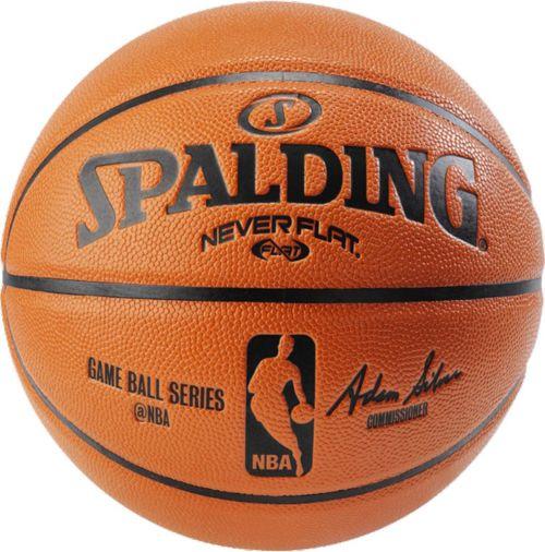 """afaa15d39c6 Spalding NEVERFLAT NBA Official Replica Basketball (29.5"""")"""