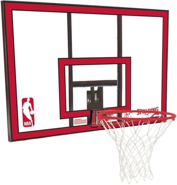"Spalding 44"" Polycarbonate Backboard and Slam Jam Rim Combo product image"