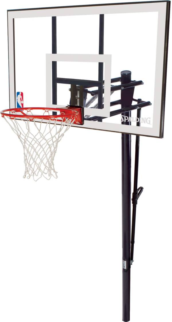 """Spalding 52"""" Acrylic In-Ground Basketball Hoop product image"""
