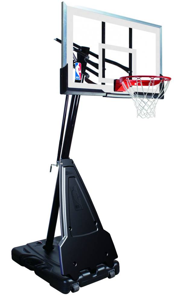 "Spalding 60"" Acrylic Portable Basketball Hoop product image"