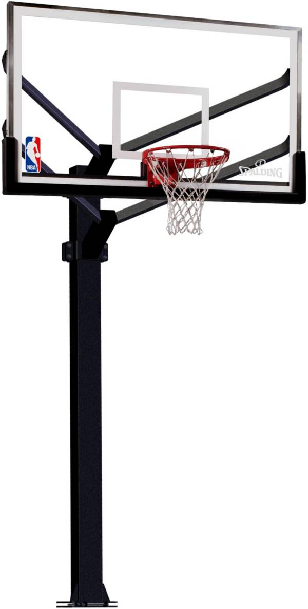 """Spalding 72"""" Arena View In-Ground Basketball Hoop product image"""