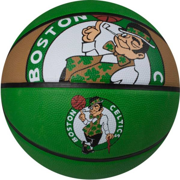Spalding Boston Celtics Full-Sized Court Side Basketball product image